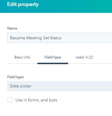 HubSpot Became Meeting Set Status