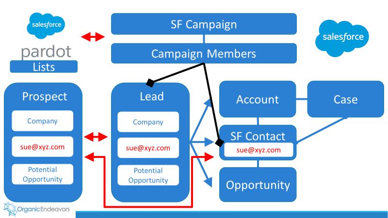 Salesforce Lead Generation Data Model